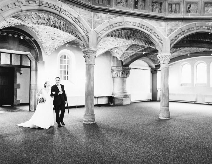 Julia & Andreas - Hochzeitsreportage in Hannover - Markuskirche - Sheraton Hotel